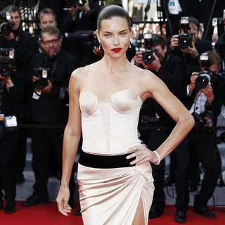 Adriana Lima in The 67th Annual Cannes Film Festival - The Homesman - Premiere Arrivals
