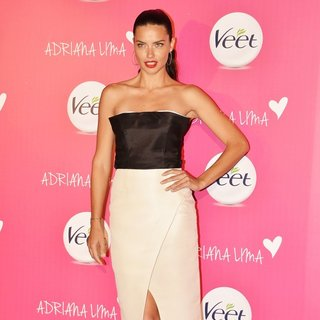 Adriana Lima in The Launch of A New Veet Product