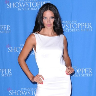 Adriana Lima - Launch of The Showstopper by Victoria's Secret