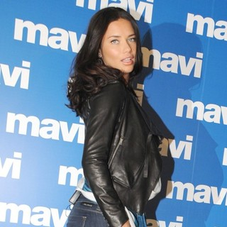 Adriana Lima in A Mavi Jeans Advertisement Shoot