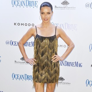 Ocean Drive Magazine Celebrates It's March Issue with Cover Star Adriana Lima
