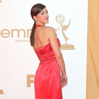 Adrianne Palicki in The 63rd Primetime Emmy Awards - Arrivals