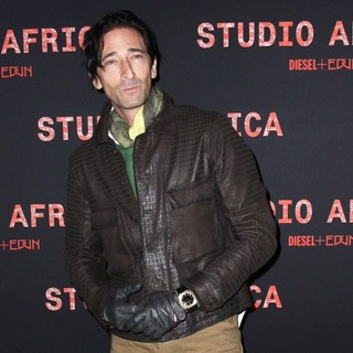Adrien Brody in Diesel+Edun's Launch Party for Studio Africa Live - adrien-brody-diesel-edun-s-launch-party-for-studio-africa-live-02