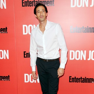 Adrien Brody in New York Premiere of Don Jon - Red Carpet Arrivals