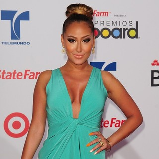 Adrienne Bailon in Billboard Latin Music Awards 2012 - Arrivals - adrienne-bailon-billboard-latin-music-awards-2012-01