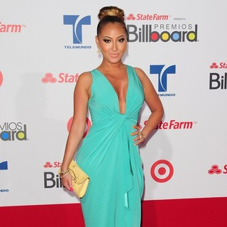 Adrienne Bailon in Billboard Latin Music Awards 2012 - Arrivals - adrienne-bailon-billboard-latin-music-awards-2012-02