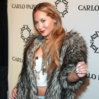 Adrienne Bailon in The Carlo Pazolini Flagship Store Opening Party