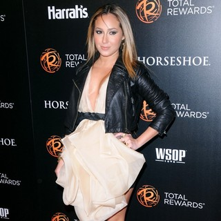 Adrienne Bailon in Escape to Total Rewards Los Angeles