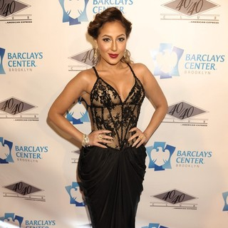Adrienne Bailon in The Grand Opening of The 40/40 Club - Arrivals