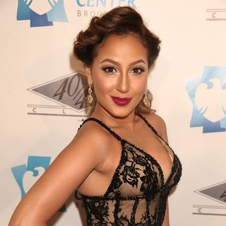 Adrienne Bailon in The Grand Opening of The 40/40 Club - Arrivals - adrienne-bailon-grand-opening-of-40-40-club-02