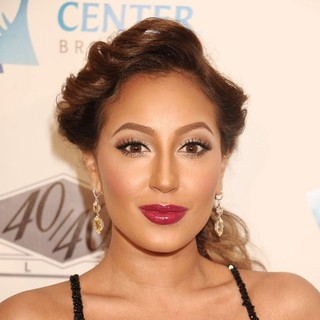 Adrienne Bailon in The Grand Opening of The 40/40 Club - Arrivals - adrienne-bailon-grand-opening-of-40-40-club-03