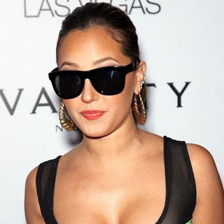 Adrienne Bailon in Adrienne Bailon Hosts Vanity Nightclub