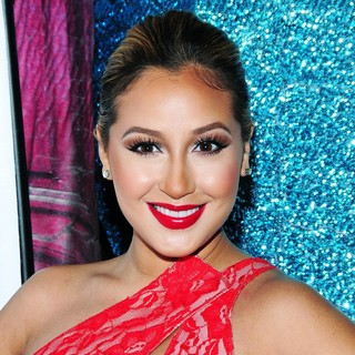 Adrienne Bailon in Adriene Bailon Celebrates The Launch of Her Custom Valentine's Day Cocktail Recipe