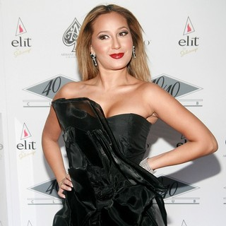 Adrienne Bailon in Grand Re-Opening of The 40-40 Club - Arrivals