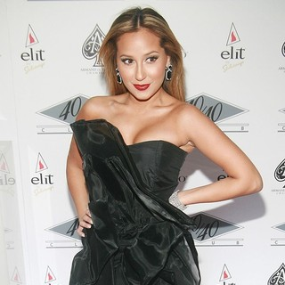 Adrienne Bailon in Grand Re-Opening of The 40-40 Club - Arrivals - adrienne-bailon-re-opening-40-40-club-04