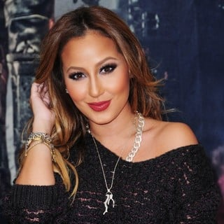 Adrienne Bailon in Dredd New York Screening