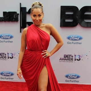 Adrienne Bailon in The 2013 BET Awards - Arrivals - adrienne-bailon-the-2013-bet-awards-01