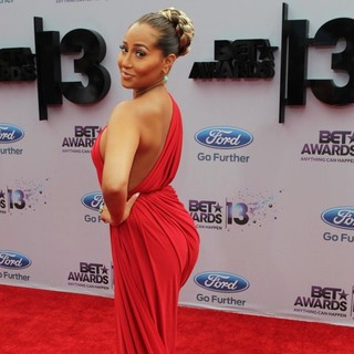 Adrienne Bailon in The 2013 BET Awards - Arrivals - adrienne-bailon-the-2013-bet-awards-04