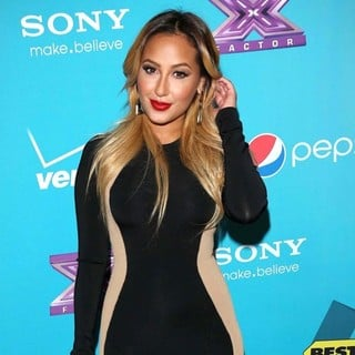 Adrienne Bailon in FOX's The X Factor Finalists Party - Arrivals