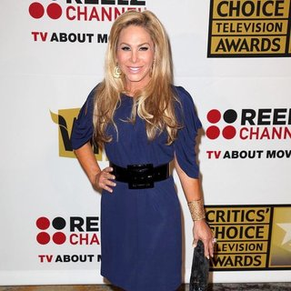 Adrienne Maloof in The 2011 Critics Choice Television Awards Luncheon - Red Carpet
