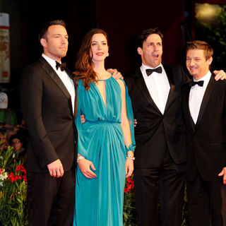 Ben Affleck, Rebecca Hall, Jon Hamm, Jeremy Renner in 67th Annual Venice Film Festival - Day 8 - Premiere of 'The Town' - Red Carpet