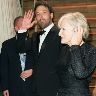 Ben Affleck, Glenn Close in 2014 Vanity Fair Oscar Party