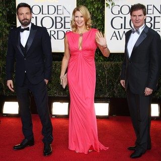 Ben Affleck, Veronica Ferres, Carsten Maschmeyer in 70th Annual Golden Globe Awards - Arrivals