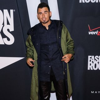 Afrojack in Fashion Rocks 2014 - Red Carpet Arrivals