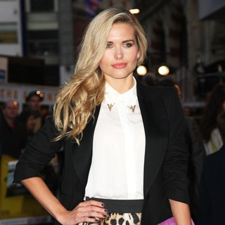 Agne Motiejunaite in The UK Film Premiere of The Adventures of Tintin: The Secret of the Unicorn - Arrivals