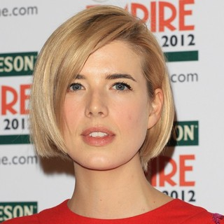 Agyness Deyn in The Empire Film Awards 2012 - Press Room