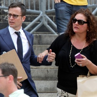 Aida Turturro in The Funeral Service for Actor James Gandolfini