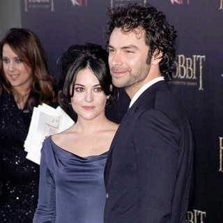Aidan Turner in Premiere of The Hobbit: An Unexpected Journey