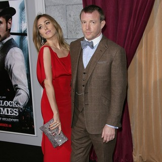 Jacqui Ainsley, Guy Ritchie in Los Angeles Premiere of Sherlock Holmes: A Game of Shadows