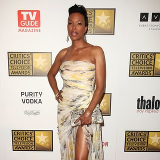 Aisha Tyler in 2012 Critics' Choice TV Awards - Arrivals
