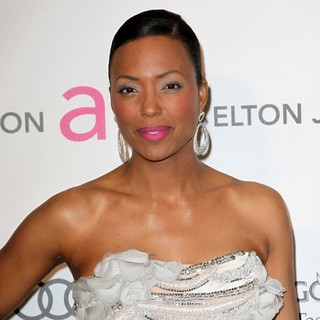 Aisha Tyler in 21st Annual Elton John AIDS Foundation's Oscar Viewing Party