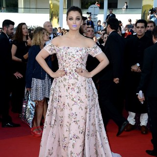 Aishwarya Rai in 69th Cannes Film Festival - From the Land of the Moon Premiere - Arrivals