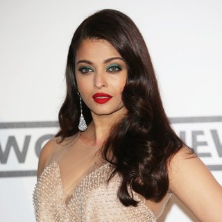 Aishwarya Rai in amfAR 21st Annual Cinema Against AIDS During The 67th Cannes Film Festival