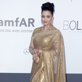 Aishwarya Rai in 66th Cannes Film Festival - amfAR's 20th Annual Cinema Against AIDS - Arrivals
