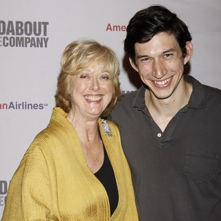 Maria Aitken, Adam Driver in Opening Night of The Broadway Play Man and Boy - After Party