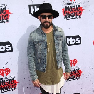 A.J. McLean, Backstreet Boys in iHeartRadio Music Awards 2016 - Arrivals