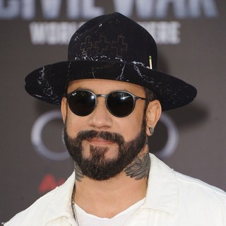 A.J. McLean, Backstreet Boys in The World Premiere of Captain America: Civil War