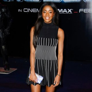 The World Premiere of RoboCop - Arrivals - aj-odudu-uk-premiere-robocop-02