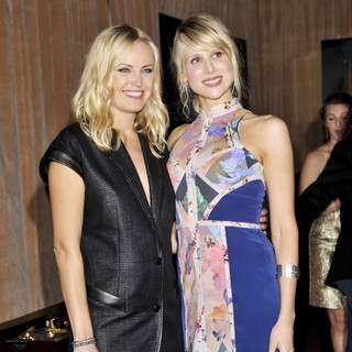 Malin Akerman, Lucy Punch in Miss Golden Globe 2013 Party Hosted by The HFPA and InStyle