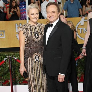 Malin Akerman, Bradley Whitford in The 20th Annual Screen Actors Guild Awards - Arrivals