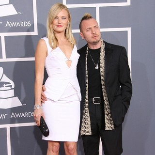 Malin Akerman, Roberto Zincone in 54th Annual GRAMMY Awards - Arrivals