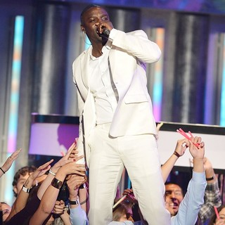 Akon in Billboard Latin Music Awards 2012 - Show