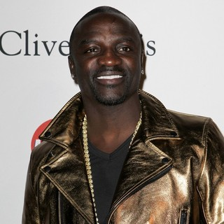 Akon in Clive Davis and The Recording Academy's 2013 Pre-Grammy Gala and Salute to Industry Icons