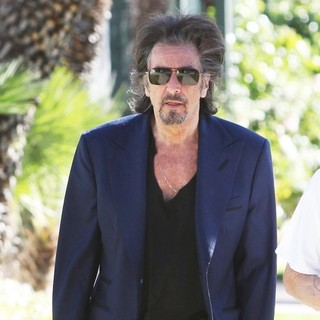 Al Pacino in Al Pacino Walking in Beverly Hills