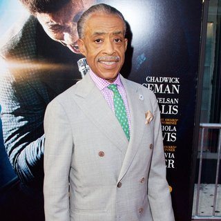 Al Sharpton in New York Premiere of Get on Up - Red Carpet Arrivals