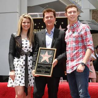 Lauren Alaina, Simon Fuller, Scotty McCreery in Simon Fuller Receives A Star on The Hollywood Walk of Fame